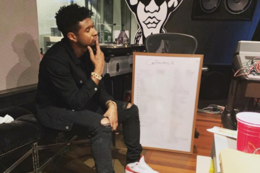 "Usher en duo avec Ella Mai sur ""Don't Waste My Time"""