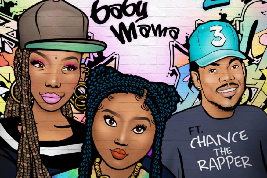 "Brandy: ""Baby Mama"" avec Chance the Rapper"