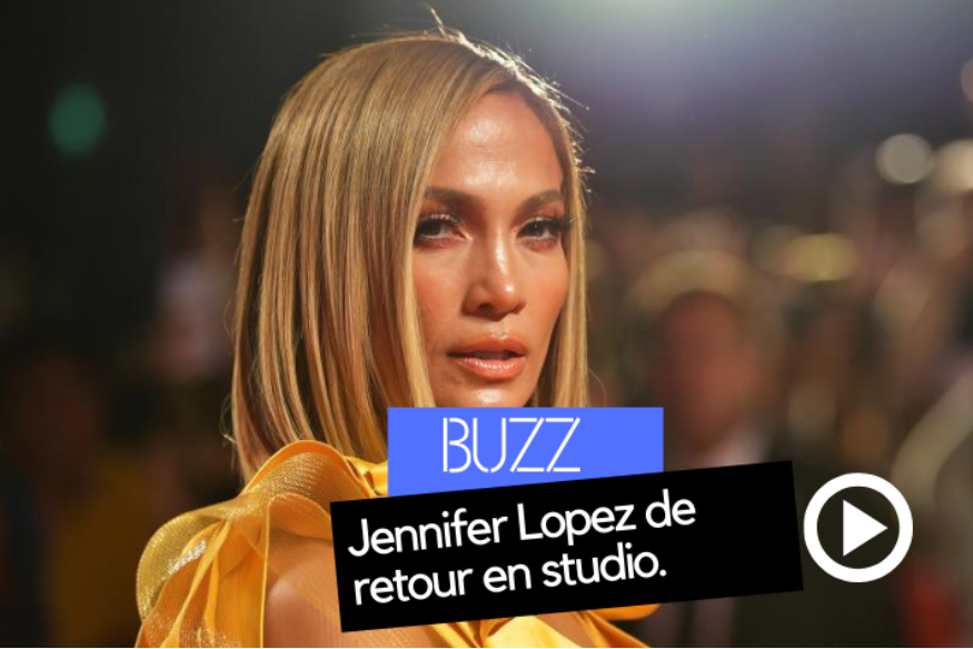 Jennifer Lopez de retour en studio (PHOTOS)