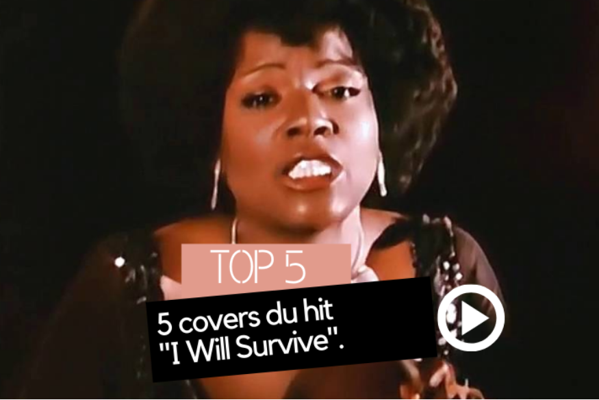 "5 covers du hit ""I Will Survive"" de Gloria Gaynor"
