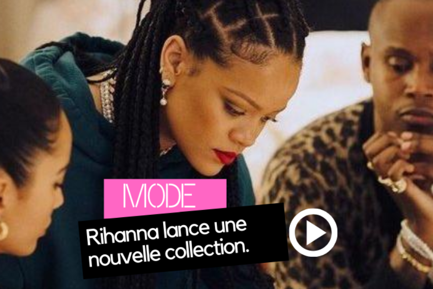 Rihanna lance sa collection de chaussures