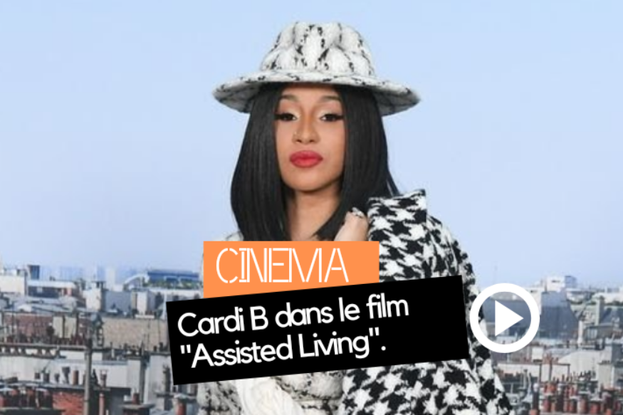 "Cardi B dans le film ""Assisted Living"""