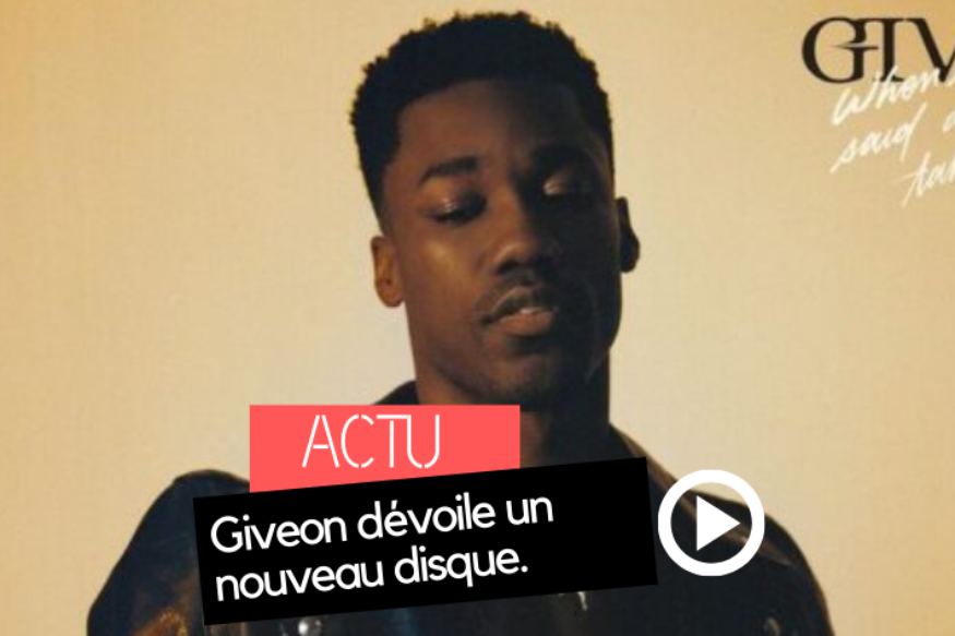 "Giveon dévoile l'opus ""When It's All Said and Done… Take Time"""