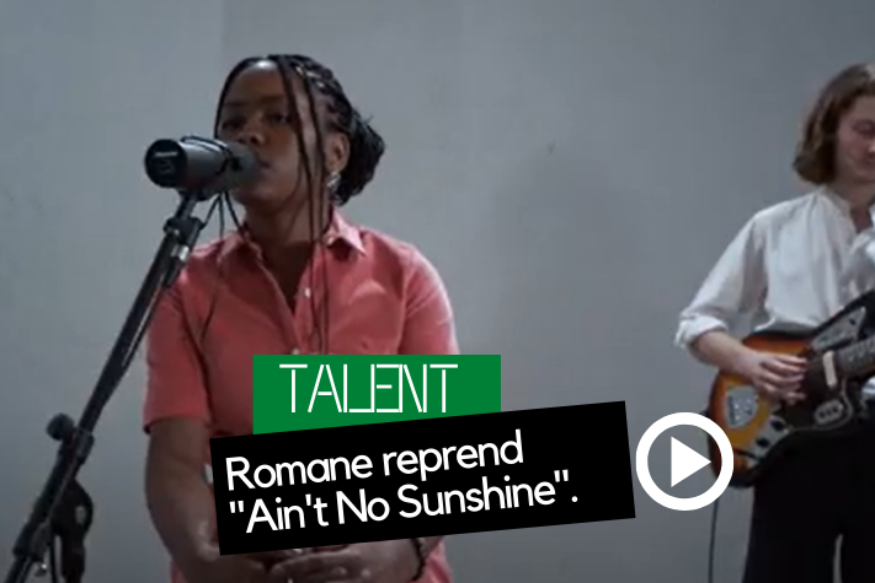 "Romane reprend ""Ain't No Sunshine"" de Bill Withers"